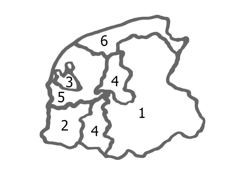 Uilebordenfrieslandkaart